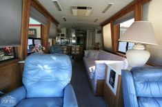 Bus Detail FSBO - Bus for Sale Buses For Sale, Rv For Sale, Porch Lighting, Interior Lighting, Used Bus, Diesel For Sale, Air Brake, Detroit Diesel, Refrigerator Freezer