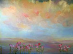 """Summertime Fantasy"" 2300mm x 1860mm Oil on Canvas.."