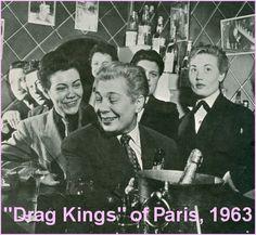 Drag Kings of Paris 1963