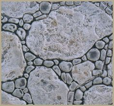 This would be cool mimicked in dry-laid fieldstone.