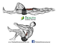 © Sasham | Dreamstime.com - Exercising for bodybuilding. Flexion of the trunk with the legs pulling