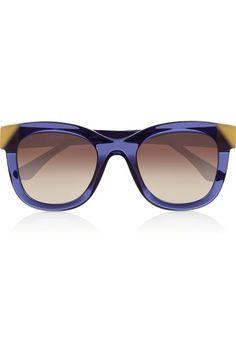 670d09777ef09 Thierry Lasry - Chromaty D-frame acetate sunglasses. Cute SunglassesRay Ban  SunglassesSunglasses WomenSunniesCheap ...