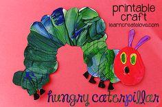 PRINTABLE HUNGRY CATERPILLAR CRAFT