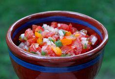 Garden Fresh Salsa | Brittany's Pantry