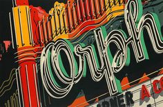 View Orph, from Documenta portfolio By Robert Cottingham; Lithograph in colours, on Arches paper; Access more artwork lots and estimated & realized auction prices on MutualArt. Piet Mondrian, Pop Art, Edward Hopper, Art Diary, Gcse Art, Detail Art, Oeuvre D'art, American Artists, Journal Art