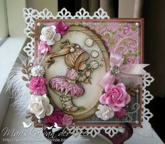 Wild Orchid Crafts: 25mm Open Roses