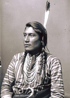 Young Calf. Arapaho - Wyoming. 1898. Photo by Baker & Johnston. University of Wyoming (American Heritage Center).
