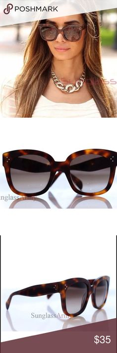 Tilda tortoise wayfarer sunglasses Just like the real ones no difference does not say Celine on the inside but has sturdy plastic. Not auth. Celine Accessories Sunglasses
