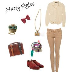 Harry Styles- One Direction ♥, created by yaksijz on Polyvore