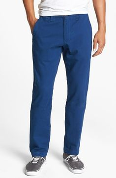 Lots of colors Volcom 'Faceted' Tapered Chinos available at #Nordstrom