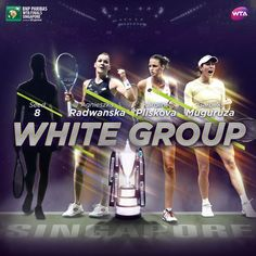 WTA Finals Singapore (@WTAFinalsSG)  The fourth and winningest part of this group turned out to be Kuznetsova along with Radwanska!