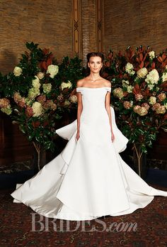 Brides: Austin Scarlett Wedding Dresses   Fall 2015   Bridal Runway Shows   Brides.com | Wedding Dresses Style