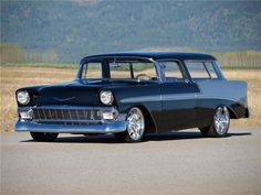 1956 CHEVROLET NOMAD CUSTOM WAGON - Barrett-Jackson Auction Company - World's Greatest Collector Car Auctions..Re- pin brought to you by #lLowcostcarIns. at #HouseofInsurance #Eugene,Oregon