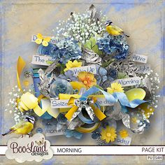 Morning Page Kit  #BoolandDesigns. #theStudio #digiscrap $5.57