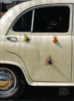 fun idea for the getaway car... TIM WALKER
