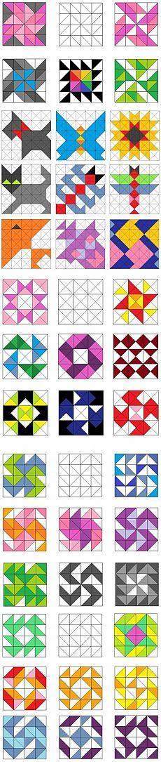Resplendent Sew A Block Quilt Ideas. Magnificent Sew A Block Quilt Ideas. Barn Quilt Designs, Barn Quilt Patterns, Patchwork Patterns, Pattern Blocks, Quilting Designs, Quilting Patterns, Quilting Ideas, Sewing Patterns, Quilting Tutorials