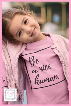 Be Kind Shirt - Pink Shirt Day - Anti-Bullying Shirts - Kids Anti-Bullying Shirt - Kids Inspirational Shirts - Be Kind Pink Day, Pink Girl, April 10th, February, Shirt Sale, T Shirt, Anti Bullying, My Baby Girl, Baby Girls