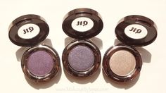 Urban Decay Eyeshadow in Psychedelic Sister, Gravity and Verve