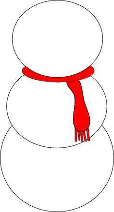 round+printable+snowman+pictures   Snowman clip art