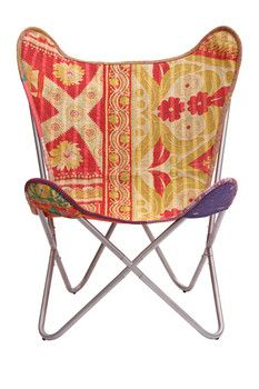 Karma Living Kantha Butterfly Chair