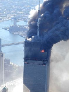 9/11 - North Tower, World Trade Center Attack
