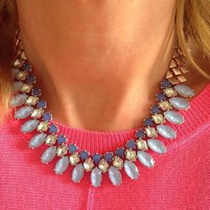 The Marina Statement Necklace is 50% off this month when you first spend $50.  Use the link in my profile to take advantage of this trunk show offer!  www.stelladot.com/ts/9xib6