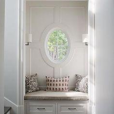 Foyer Window Seat