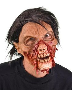 Torn A Part Supersoft Mask SKU: MF1004 Zagone Studios MF1004 Torn A Part Mask. Supersoft Zombie mask with wig and great moving mouth action.  Zagone Masks & Costumes | Zagone Studios