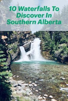 Best Places To Travel, Vacation Places, Cool Places To Visit, Vacations, Alberta Travel, Canada Destinations, Waterfall Hikes, Canadian Travel, Places Around The World