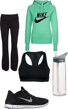 """""""running ."""" by itsrosemarie ❤ liked on Polyvore"""