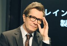 Gary Oldman with glasses
