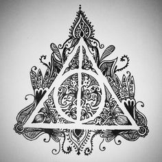 Harry Potter Deathly hallows By Madison Barnes Mebemaddieb