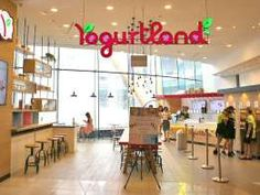 Yogurtland restaurant