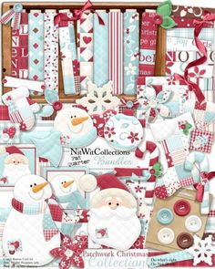 FQB - Patchwork Christmas Collection