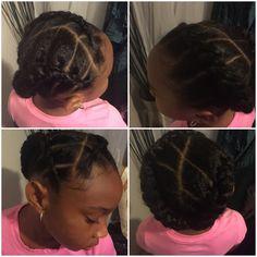 Natural Hairstyles #kids #hair #braids #natural