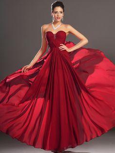 A Line Prom Dresses, Strapless Dress Formal, Nice Dresses, Evening Dresses, Bridesmaid Dresses, Vestidos Vintage, Vintage Dresses, Vintage Prom, Red Wedding Gowns