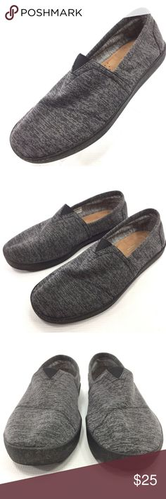 TOMS Avalon Heather Gray Sneaker Slip On 9.5 TOMS Avalon Slip On Heather Gray Men's 9.5 Fashion Sneaker Slip On  Flaw Free; See Photos for Details  The item will be shipped either the same or next day  Send me a message with any questions Toms Shoes Sneakers