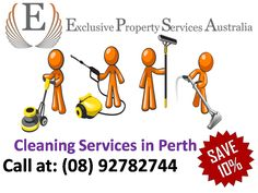 Exclusive Property Services Australia is the first choice people looking for fast, reliable and flexible commercial and domestic cleaning services in Perth.