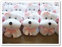 bichinhos feito de toalha de mão - Pesquisa Google
