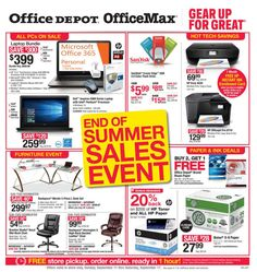Office Depot / OfficeMax Ad September 11 - 17, 2016 - http://www.olcatalog.com/office/office-depot-officemax-ad.html
