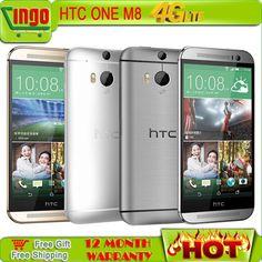 """HTC m8 New Unlocked Original HTC One M8 16/32G smartphone 5"""" Android 4.4.2 4G LTE Quad Cor… http://s.click.aliexpress.com/e/6QvBMfY7I"""