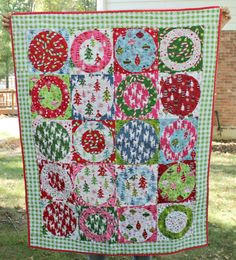 Etsy Christmas quilt