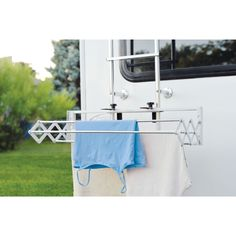 Compact Smart Dryer : Expandable Indoor/Outdoor Drying Rack - RV and Camper Rv Campers, Camper Trailers, Camper Life, Happy Campers, Boler Trailer, Camper Caravan, Popup Camper, Diy Camper, Travel Trailers
