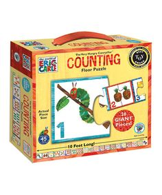 Look what I found on #zulily! The Very Hungry Caterpillar Counting Floor Puzzle by The World of Eric Carle #zulilyfinds
