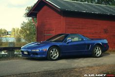 Beautiful blue. #acura #honda #nsx #sportscar