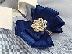 Odznaky/Brošne - Modrá brošňa 02 - 8915996_