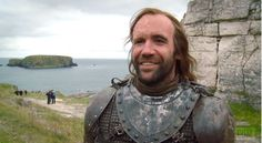 There's a lot to love about Rory McCann, and the fact that he portrays The Hound is one of them. But look at that smile. And his height. And his beard. Oh that beard.