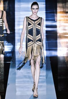 Gorgeous Gucci Art Deco dress via Fashionising