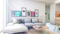 ARCHILAB architekti - interiér bytu, Slnečnice, Bratislava Bratislava, Architekti, Couch, Living Room, Furniture, Home Decor, Projects, Settee, Decoration Home