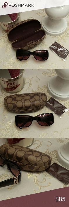Coach sunglasses Coach sunglasses, used once.  Beautiful Coach Accessories Glasses